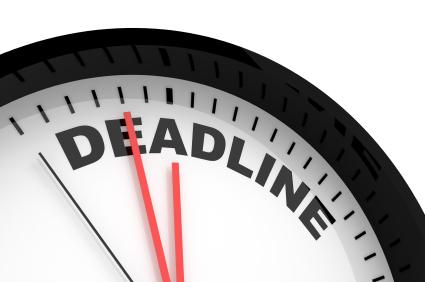 Deadline for Settlement Industry