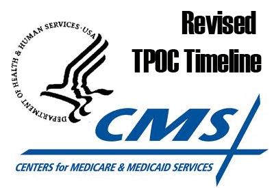 Revised CMS TPOC Timeline