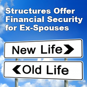 Divorces Up As Economy Recovers; Structures Offer Financial Security for Ex-Spouses