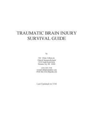 Click to download a copy of the TBI Survival Guide