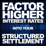 How Higher Interest Rates Can Be Factored Into Structured Settlement Payments