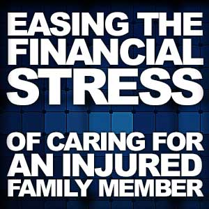 Easing the Financial Stress Of Caring For A Severely Injured Family Member