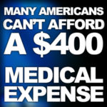Many Americans Can't Pay A $400 Emergency Expense