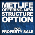 Image showing title to Pat Farber's structured settlment alert post about MetLIfe's new structured option for property sales