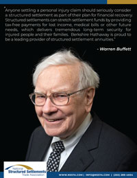 Warren Buffett Structured Settlement Quote