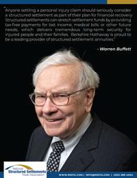 Warren Buffett Structured Settlement Quote