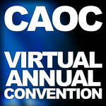 CAOC's Virtual Annual Convention – November 19-21