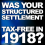Was Your Structured Settlement Tax-Free In 1918?